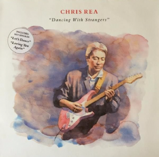 Chris Rea - Dancing With Strangers (LP) (EX-/EX-)